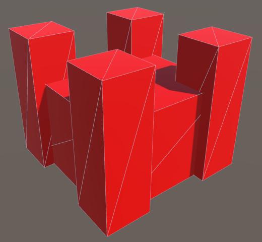 Карты из шестиугольников в Unity: вода, объекты рельефа и крепостные стены - 137