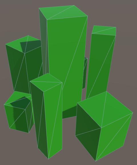 Карты из шестиугольников в Unity: вода, объекты рельефа и крепостные стены - 139