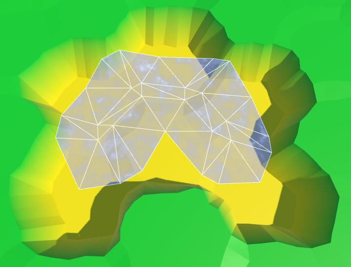 Карты из шестиугольников в Unity: вода, объекты рельефа и крепостные стены - 14