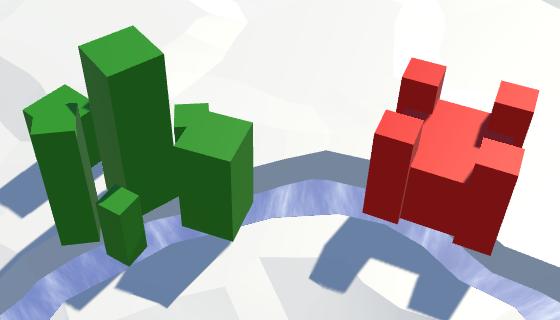Карты из шестиугольников в Unity: вода, объекты рельефа и крепостные стены - 143
