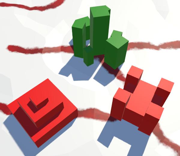 Карты из шестиугольников в Unity: вода, объекты рельефа и крепостные стены - 144