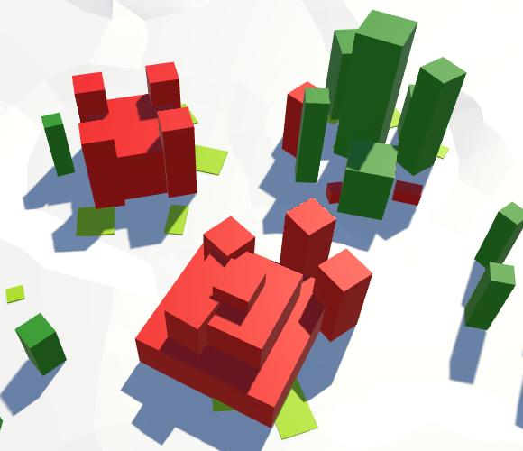 Карты из шестиугольников в Unity: вода, объекты рельефа и крепостные стены - 145