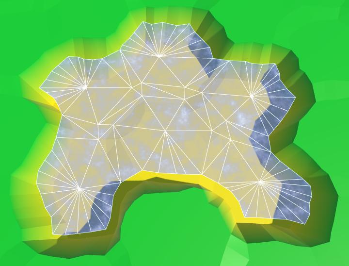 Карты из шестиугольников в Unity: вода, объекты рельефа и крепостные стены - 15