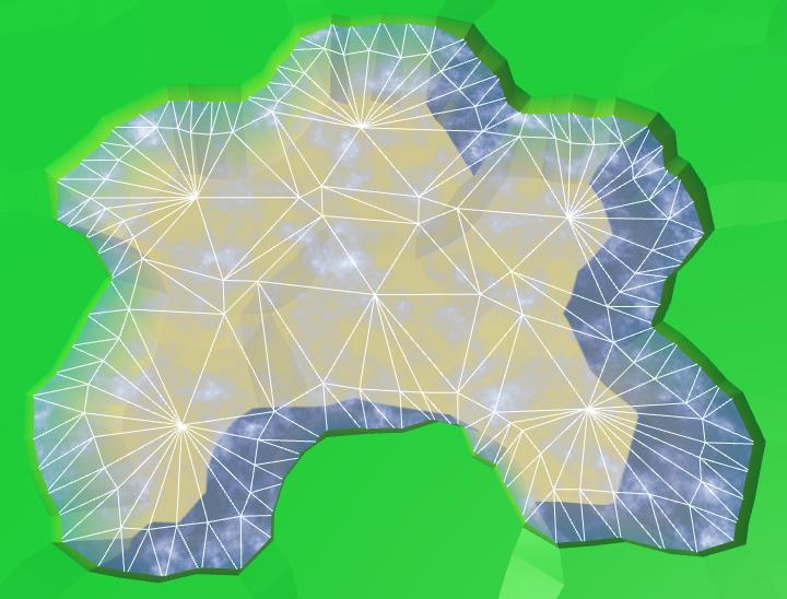 Карты из шестиугольников в Unity: вода, объекты рельефа и крепостные стены - 17
