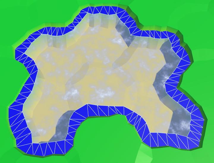 Карты из шестиугольников в Unity: вода, объекты рельефа и крепостные стены - 19