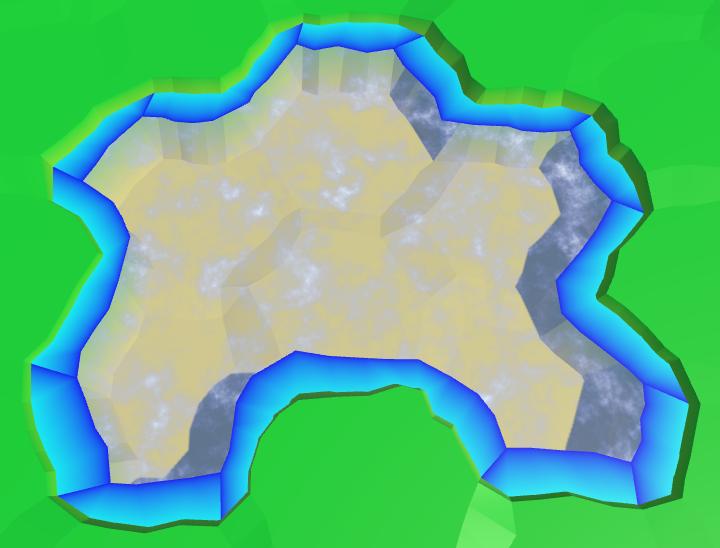 Карты из шестиугольников в Unity: вода, объекты рельефа и крепостные стены - 20