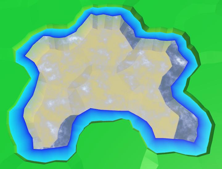 Карты из шестиугольников в Unity: вода, объекты рельефа и крепостные стены - 21