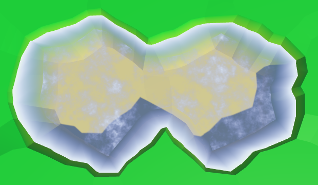 Карты из шестиугольников в Unity: вода, объекты рельефа и крепостные стены - 22