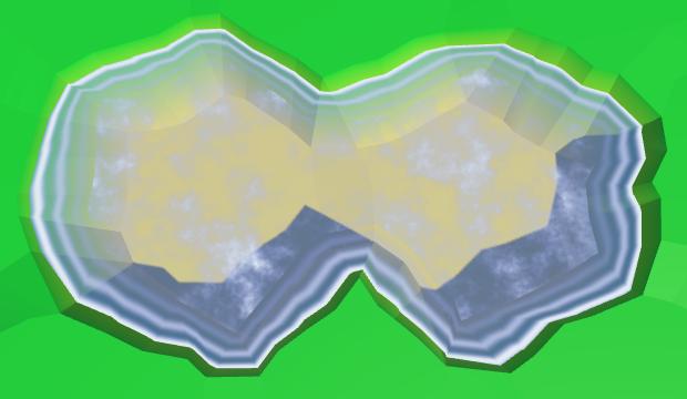 Карты из шестиугольников в Unity: вода, объекты рельефа и крепостные стены - 23