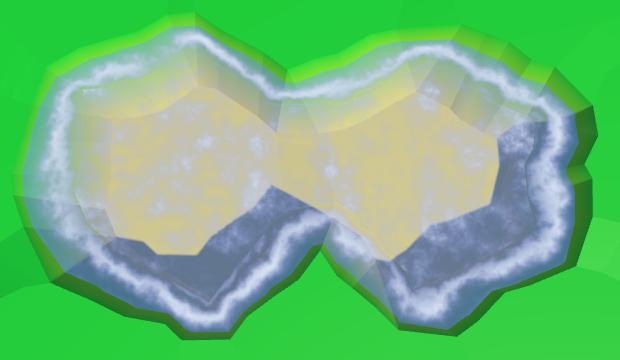 Карты из шестиугольников в Unity: вода, объекты рельефа и крепостные стены - 25