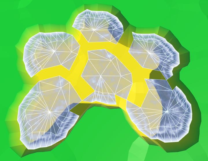 Карты из шестиугольников в Unity: вода, объекты рельефа и крепостные стены - 27