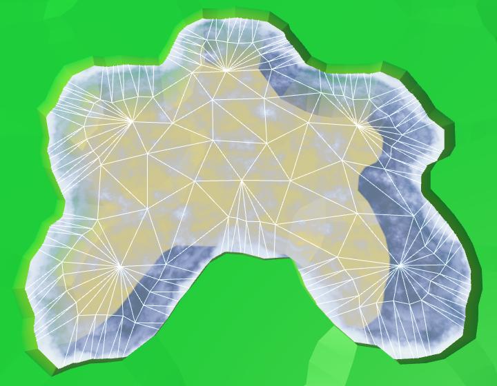 Карты из шестиугольников в Unity: вода, объекты рельефа и крепостные стены - 28