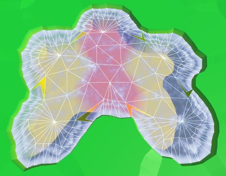Карты из шестиугольников в Unity: вода, объекты рельефа и крепостные стены - 29