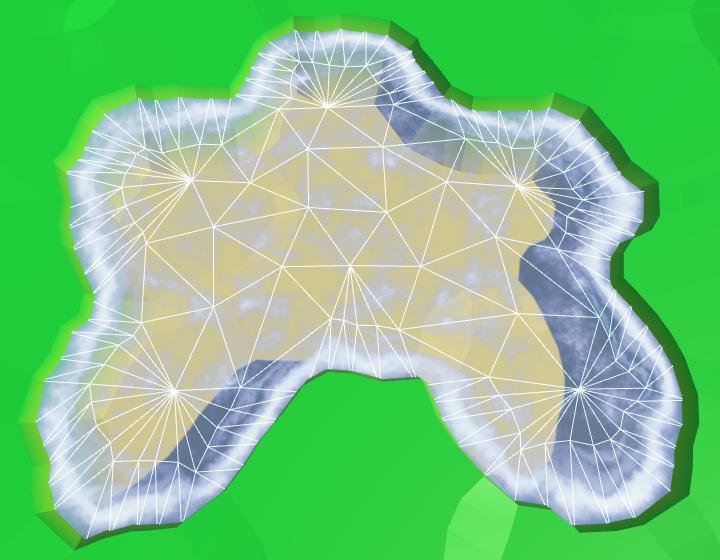 Карты из шестиугольников в Unity: вода, объекты рельефа и крепостные стены - 30