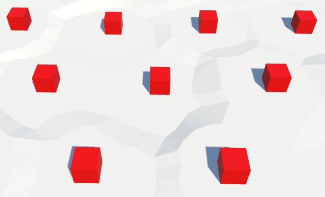 Карты из шестиугольников в Unity: вода, объекты рельефа и крепостные стены - 61