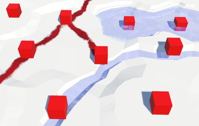 Карты из шестиугольников в Unity: вода, объекты рельефа и крепостные стены - 63