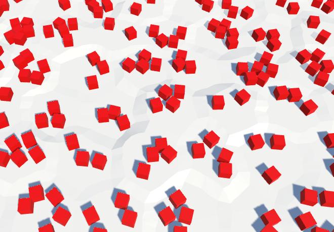 Карты из шестиугольников в Unity: вода, объекты рельефа и крепостные стены - 69