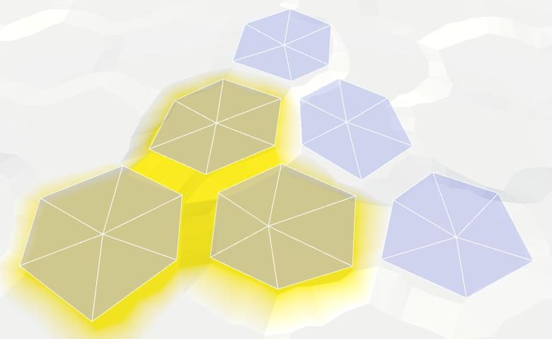 Карты из шестиугольников в Unity: вода, объекты рельефа и крепостные стены - 7