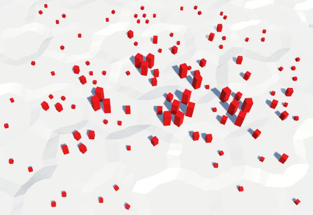 Карты из шестиугольников в Unity: вода, объекты рельефа и крепостные стены - 76