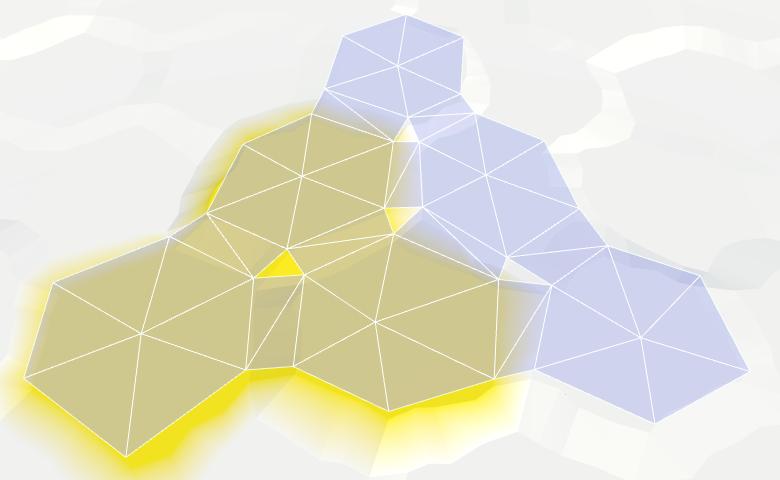 Карты из шестиугольников в Unity: вода, объекты рельефа и крепостные стены - 8