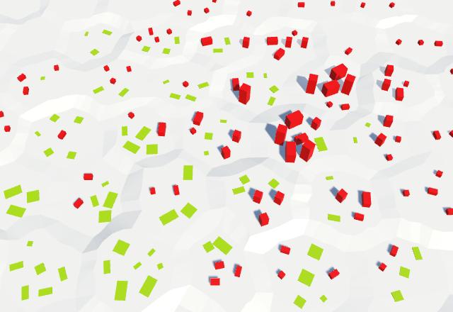 Карты из шестиугольников в Unity: вода, объекты рельефа и крепостные стены - 81