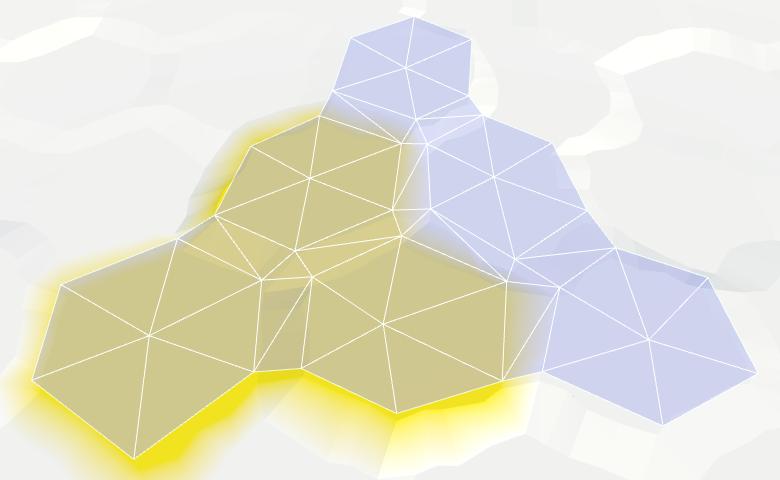 Карты из шестиугольников в Unity: вода, объекты рельефа и крепостные стены - 9