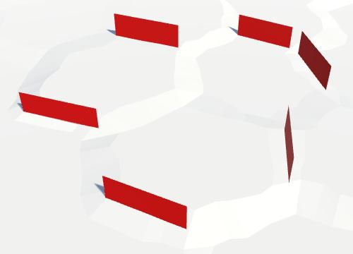 Карты из шестиугольников в Unity: вода, объекты рельефа и крепостные стены - 90