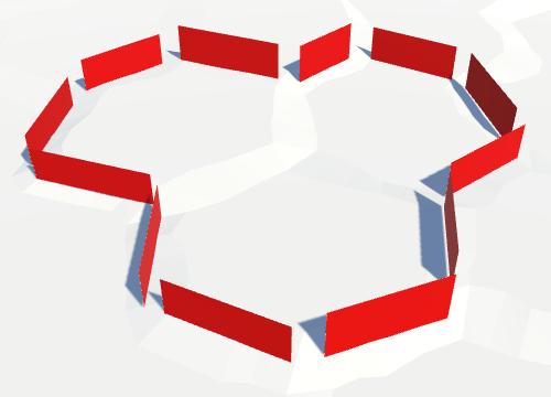 Карты из шестиугольников в Unity: вода, объекты рельефа и крепостные стены - 91