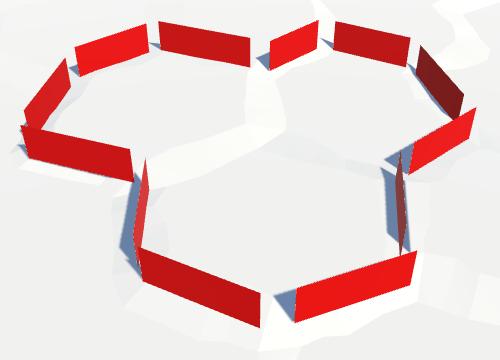 Карты из шестиугольников в Unity: вода, объекты рельефа и крепостные стены - 92