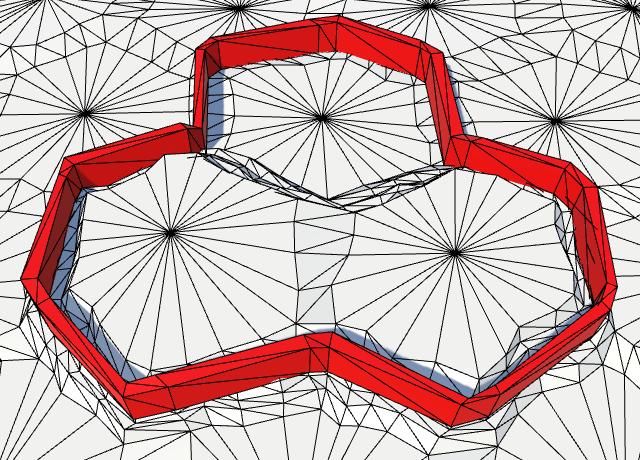 Карты из шестиугольников в Unity: вода, объекты рельефа и крепостные стены - 99