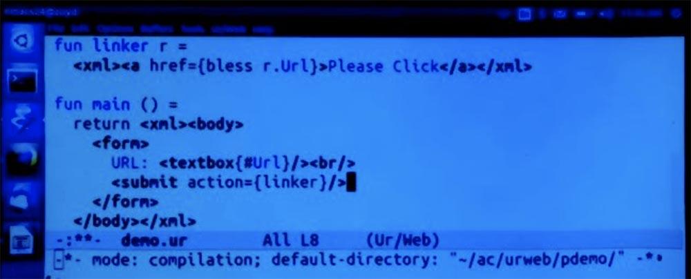 Курс MIT «Безопасность компьютерных систем». Лекция 11: «Язык программирования Ur-Web», часть 2 - 17
