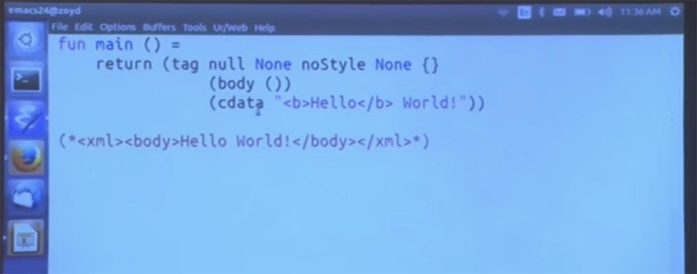 Курс MIT «Безопасность компьютерных систем». Лекция 11: «Язык программирования Ur-Web», часть 2 - 4