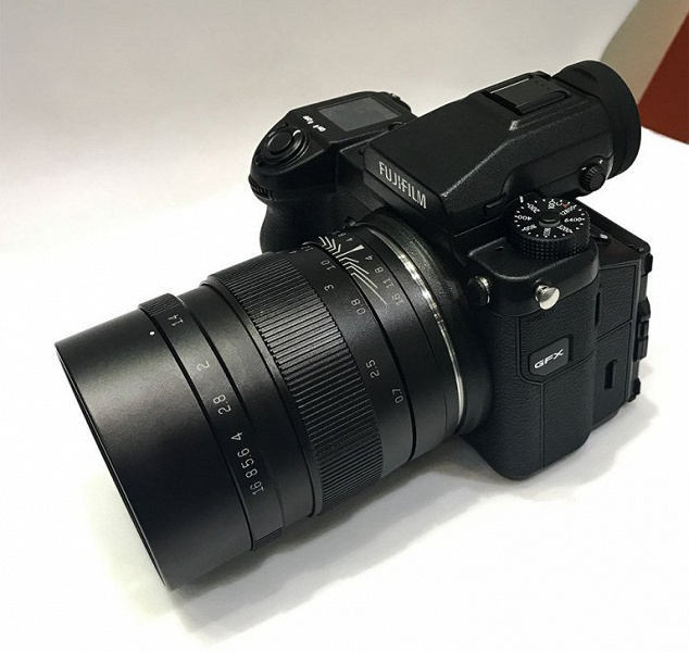Назван срок выпуска объектива Mitakon Speedmaster 65mm f/1.4 системы Fujifilm GFX