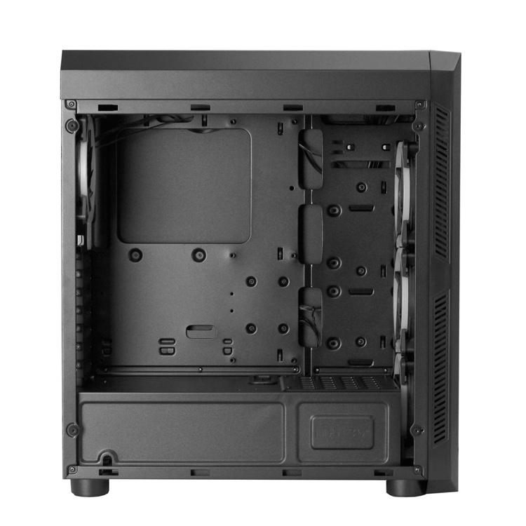 Новый ПК-корпус Chieftec оснащён четырьмя вентиляторами с RGB-подсветкой