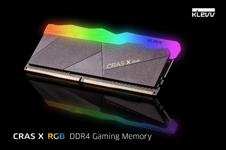 KLEVV Cras X RGB и Bolt X: память DDR4 для игровых компьютеров