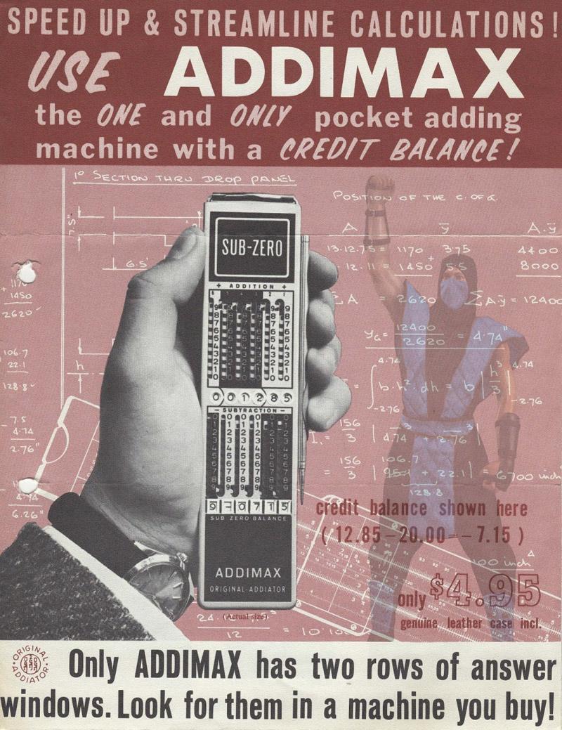 Sub-Zero: антикварный механический калькулятор. Как им пользоваться (с приветом из 18-го века) - 1