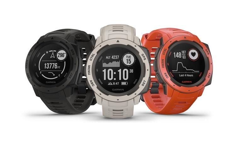 Анонсированы прочные смарт-часы Garmin Instinct для любителей активного отдыха