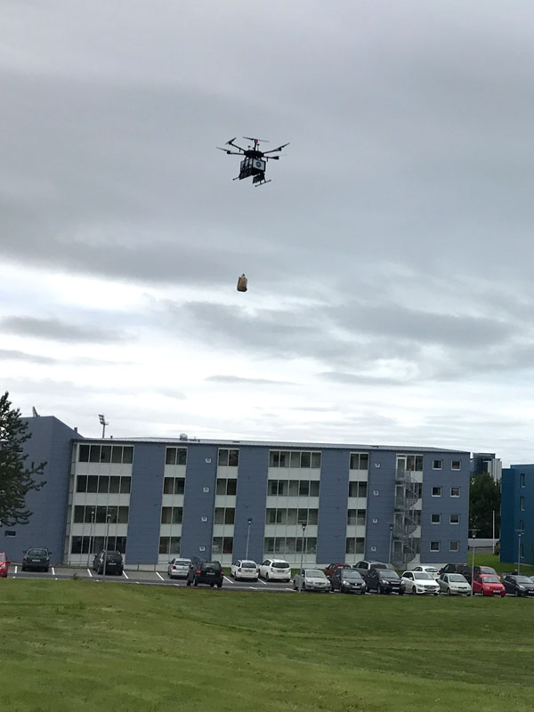 Оправдана ли коммерческая доставка дронами? В Исландии собираются это выяснить - 1