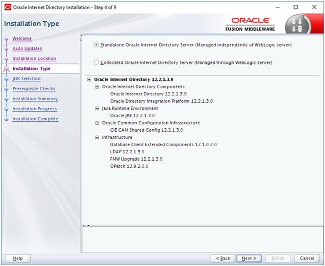 Установка и настройка Oracle Internet Directory для разрешения имен баз данных - 1