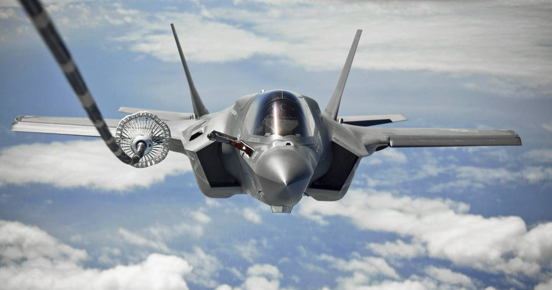 ВВС США показали заправку F-35 над Афганистаном