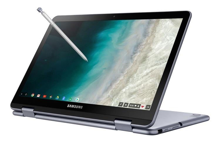 Ноутбук-трансформер Samsung Chromebook Plus V2 (LTE) оценён в 0