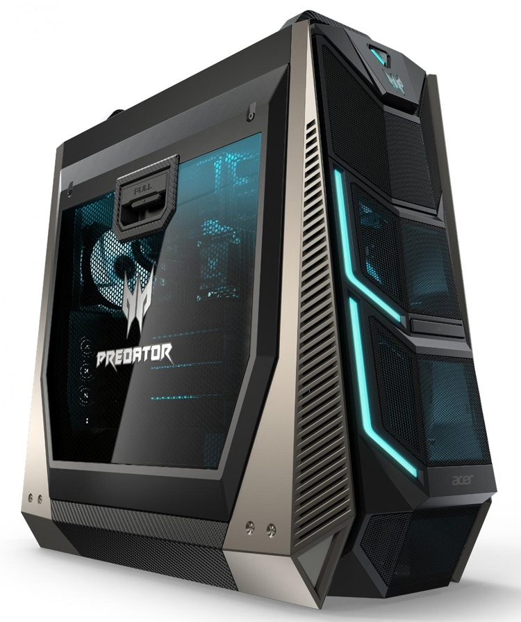Acer оснастила компьютеры Predator Orion чипом Core девятого поколения