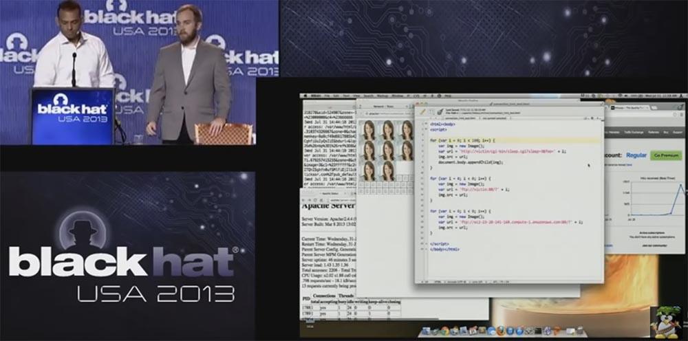 Конференция BLACK HAT USA. Ботнет из миллиона браузеров. Часть 1 - 12