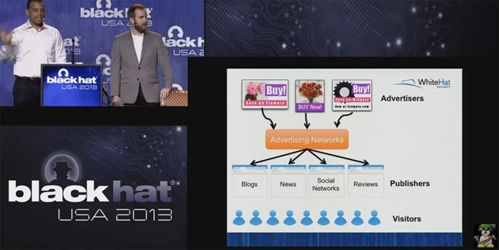Конференция BLACK HAT USA. Ботнет из миллиона браузеров. Часть 1 - 13