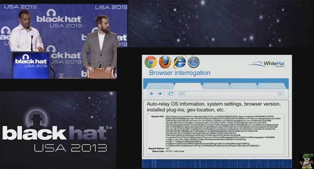 Конференция BLACK HAT USA. Ботнет из миллиона браузеров. Часть 1 - 3