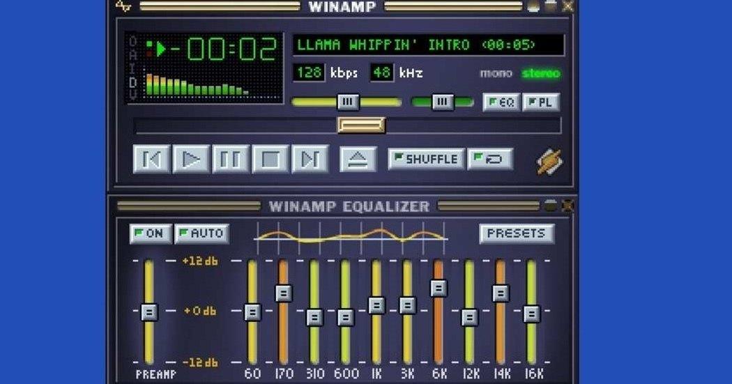 Winamp: I'll be back!