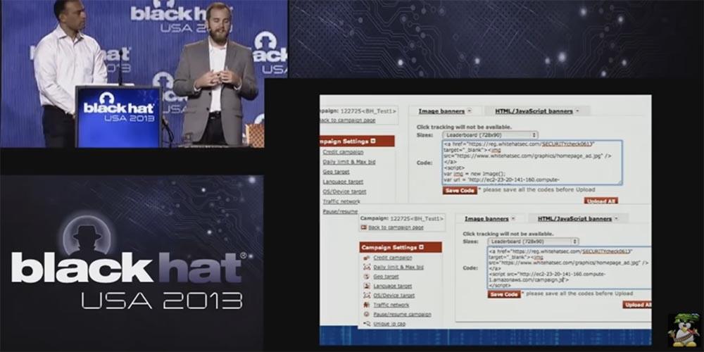 Конференция BLACK HAT USA. Ботнет из миллиона браузеров. Часть 2 - 2