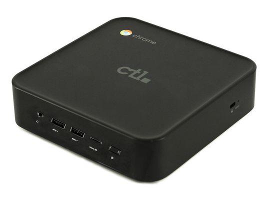 Мини-ПК CTL Chromebox CBx1 оснащён процессором Core i7-8550U и оценён в 600 долларов