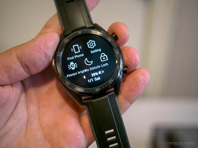 Представлены умные часы Huawei Watch GT