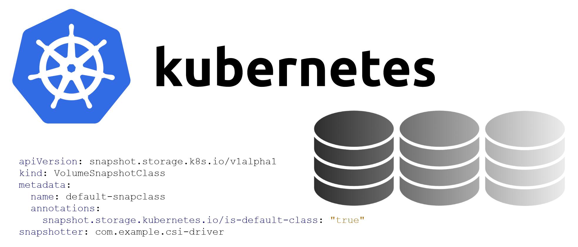 Знакомимся с альфа-версией снапшотов томов в Kubernetes - 1